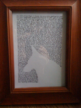 Guide Dog (framed)